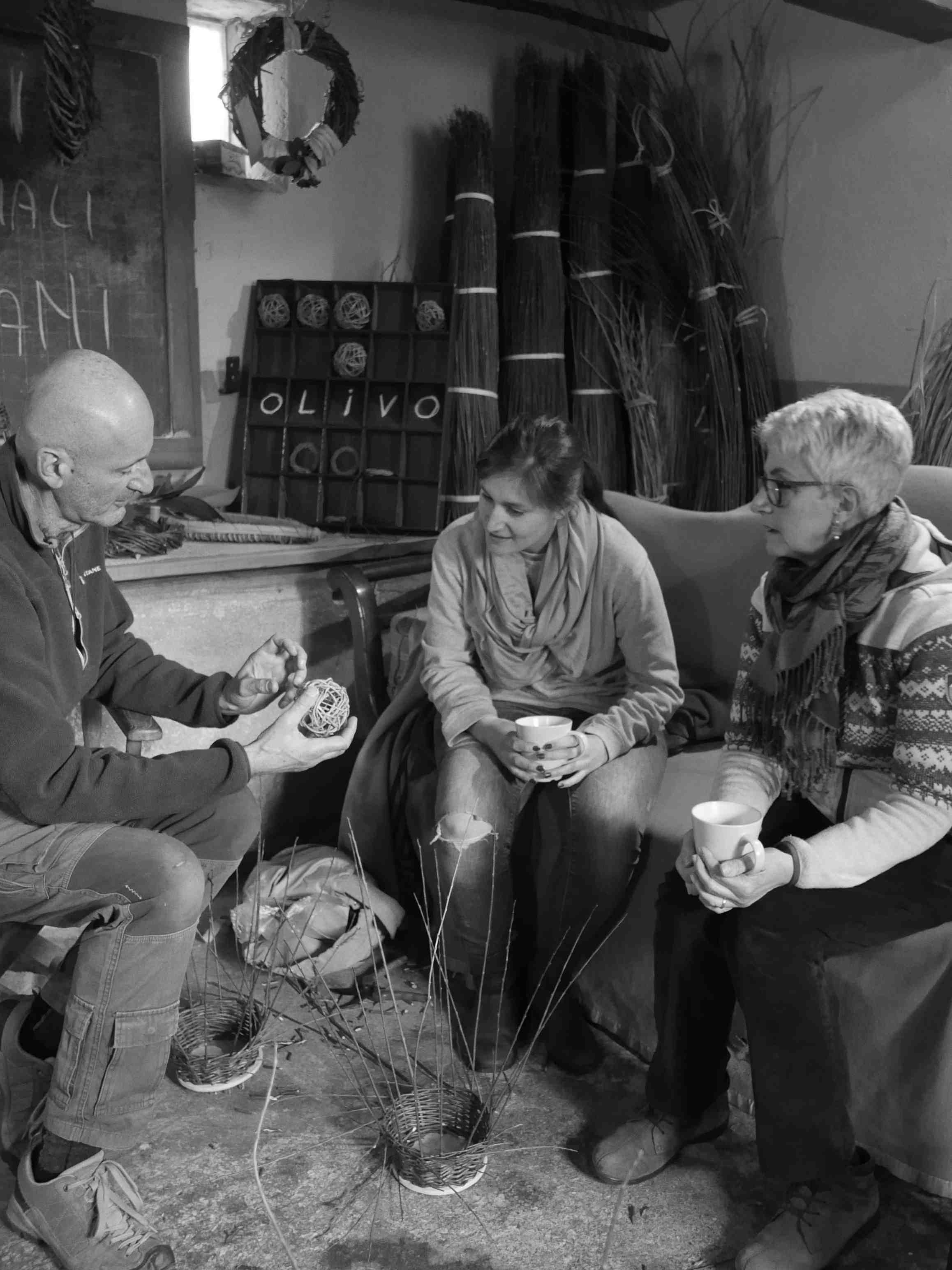 I corsi di cesteria di Intrecci Toscani