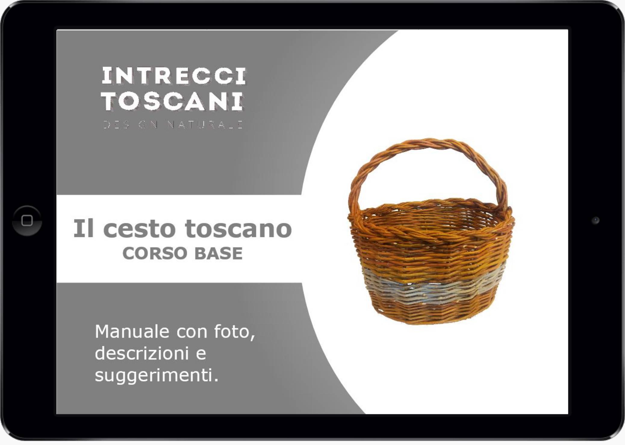 copertina manuale corso base di cesteria